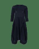 PRAISE: Multi seam, multi-panel dress with 3/4 sleeves