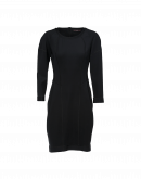 DOMINATE: Long sleeve fitted jersey shift dress