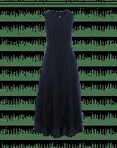 AMBITIOUS: Langes Kleid mit gesteppten Falten