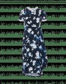 RIPPLE: Technisches Jerseykleid mit Wickelrock