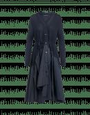 CAPTIVATING: Cardigan con gonna ampia in maglia e taffetà