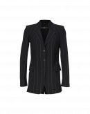 MOTIVE: Laser cut tech-tailored pinstripe jacket