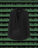 SUPERIOR: Giacca elegante con scollatura a scialle e frange