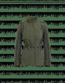 NOTORIOUS: Giacca in stile militare in twill tecnico e taffetà