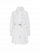 PARAGON: Ivory summer weight parka