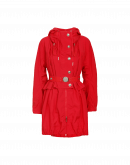 PARAGON: Red summer weight parka