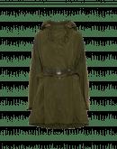 PARAGON: Lightweight khaki green hooded parka