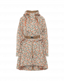 PARAGON: Lightweight hooded parka in floral print