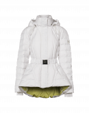 EXTREME: Short padded parka in ivory