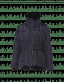 HUDDLE UP: Navy down-filled jacket