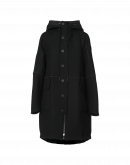 APPROACH: Black Duffle coat