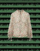 ANTICIPATE: Technische Georgette-Blouse mit Blumendruck
