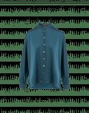 QUIETLY: Camicia collo dritto con maniche dolman