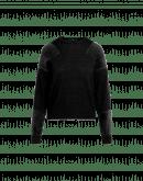 AWESTRUCK: Maglia girocollo in maglia rasata e garzata