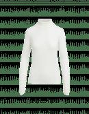 LOGICAL: Dolcevita avorio in jersey elasticizzato