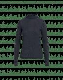 LOGICAL: Dolcevita blu navy in jersey elasticizzato