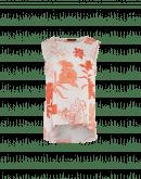 CUE: Top a canotta con stampa floreale avorio e arancio