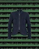 CONFIDE: Navy zip front cardigan jacket