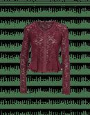 IMAGINE: Short stretch lace cardigan