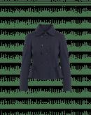DILLY-DALLY: Giacca-cardigan in jersey tecnico blu navy