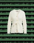 OUTSHINE: Cardigan a coste con cintura in maglia