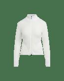 ENVY: Cardigan con zip frontale e collo alto a costine