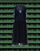 AURA: Durchsichtiges Kleid mit Volant aus Techno-Tüll