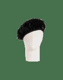 PINNACLE: Basco nero in paillettes