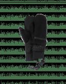 KNOCKOUT: Manopole in eco pelliccia nere