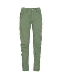 HAVOC: Pantaloni con cucitura curva verde mela