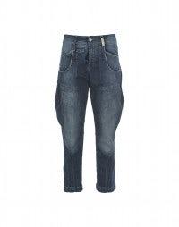 BRONCO: Jeans con gessatura irregolare