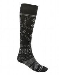 DASH: Wool-blend jaquard knee-high socks