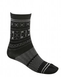 EFFECT: Wool-blend jaquard ankle socks
