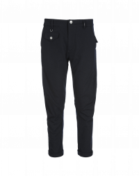 MAC: Navy tapered leg pants