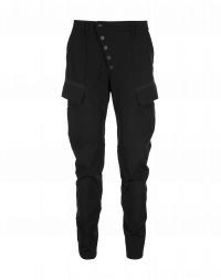 RIVALRY: Pantaloni in stile cargo neri