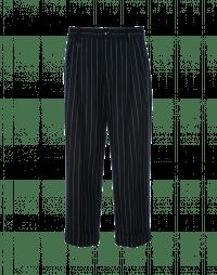 CHEAT: Wide leg pinstripe pant