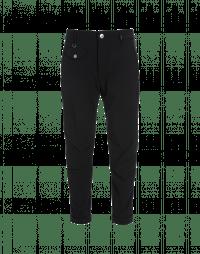 CLAMOUR: Pantaloni neri dalla linea affusolata