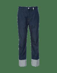 SEIZE: Pantaloni in denim a gamba ampia