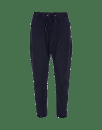 RAVEN: Pantaloni tecnici in jersey effetto