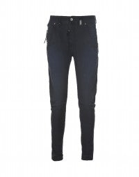 STEFAN: Cambridge blue shape-seam pants