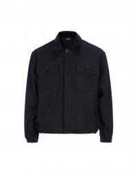 OUTLAW: Flock collar work jacket