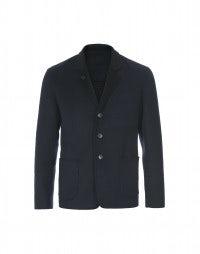 JOSH: Navy blue cashmere jacket