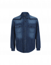 TAUNT: Camicia in denim sfumato