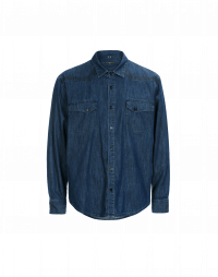 TAUNT: Camicia in denim con impronte