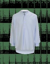 GALLANT: Camicia azzurra con abbottonatura parziale
