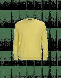 OBSERVE: Maglia leggera in lana vergine color lime