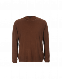 PUSHOVER: Tan cashmere sweater