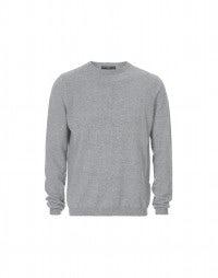 HAMISH: Grey cashmere sweater