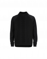 FIFE: Embossed tech-knit top