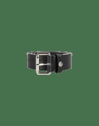 TURNER: Black leather belt